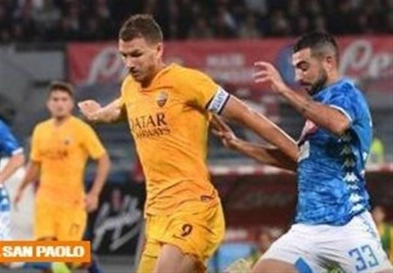 فوتبال دنیا، فرار ناپولی از شکست خانگی مقابل رم
