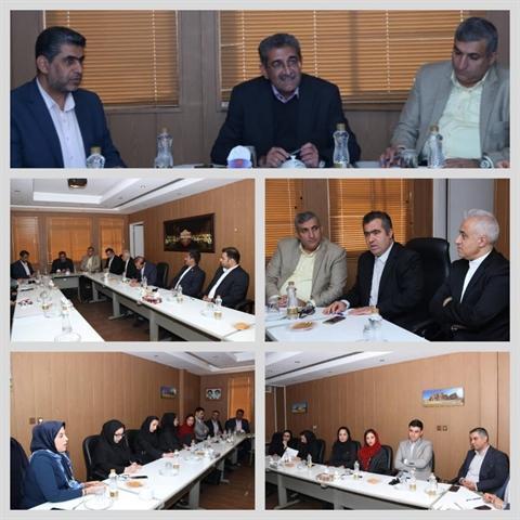 جلسه هماهنگی دهمین نمایشگاه پارس شیراز برگزار گردید