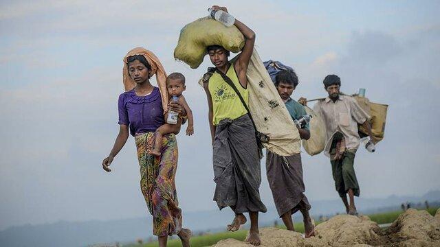 سازمان ملل به آواره شدن بیش از 4500 نفر در ایالت راخین میانمار اشاره نمود