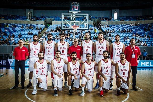 دومین پیروزی ایران مقابل تیم ملی بسکتبال اردن