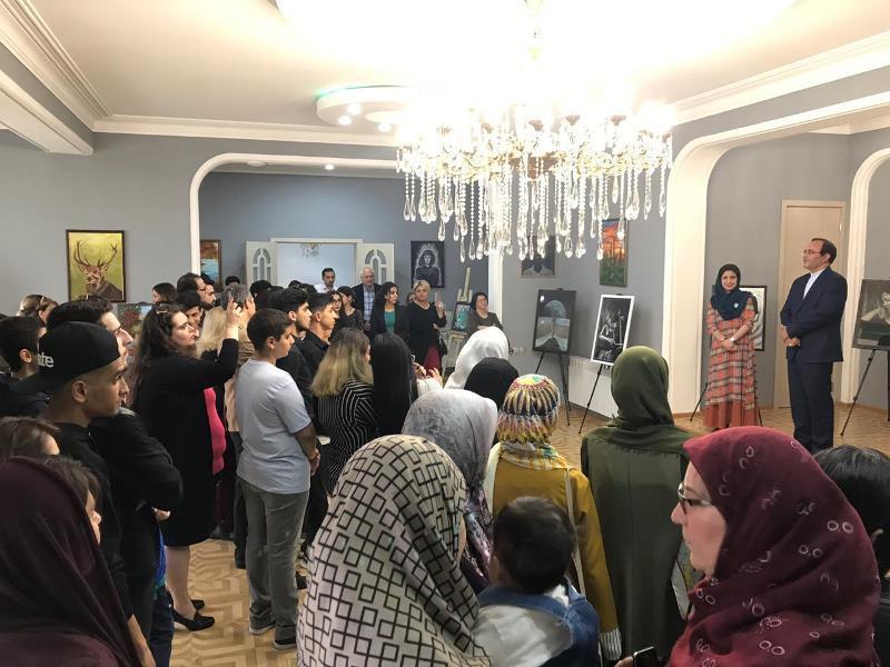 برگزاری نمایشگاه نقاشی هنرمندان ایرانی مقیم تفلیس