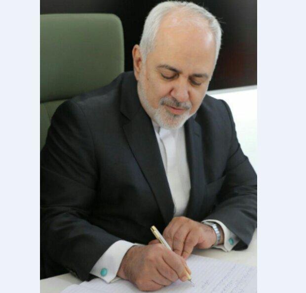 پیغام تبریک ظریف به همتایان مسلمان خود به مناسبت فرارسیدن عید سعید فطر
