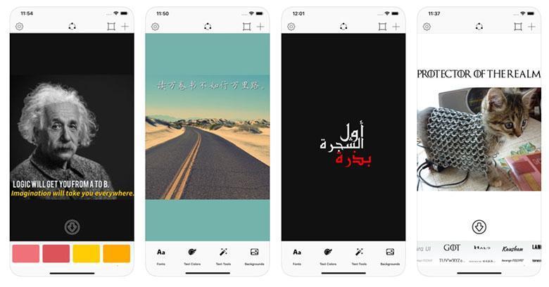 معرفی اپلیکیشن: ساخت راحت عکس نوشته هایی زیبا با فونت های فارسی متنوع