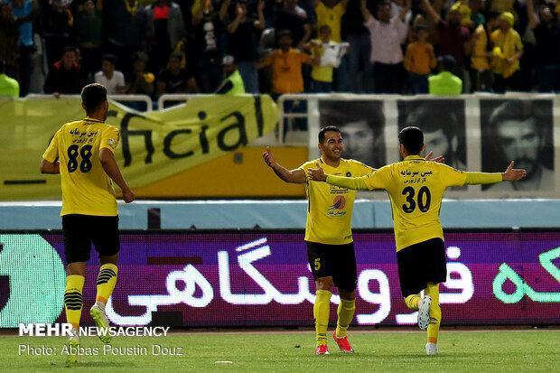 پیروزی سپاهان برابر شاهین بوشهر، زردهای اصفهان صدرنشین شدند