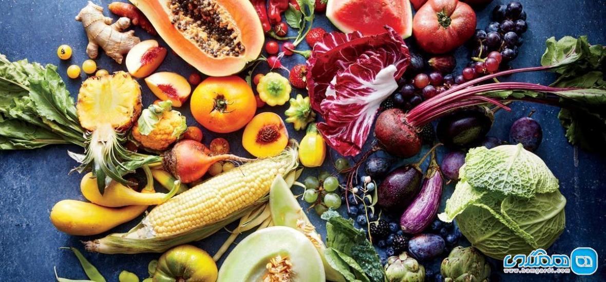مصرف کم میوه و سبزی باعث چاقی می گردد!