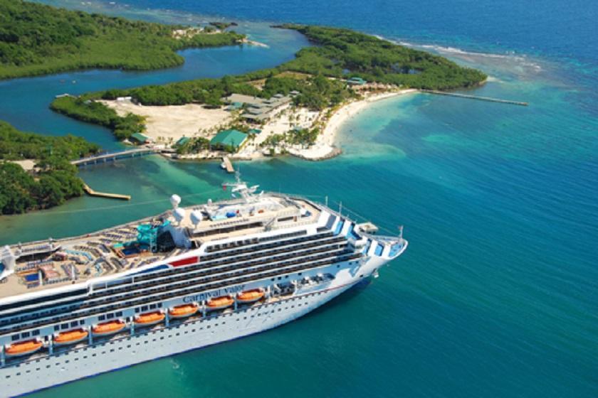تورهای کشتی های کروز شمار گردشگران بلیز را افزایش داده است