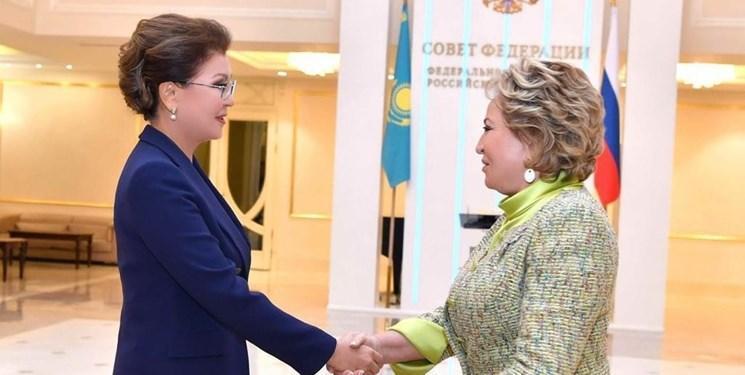 دیدار روسای مجلس قزاقستان و روسیه؛ همکاری مرزی محور مذاکرات
