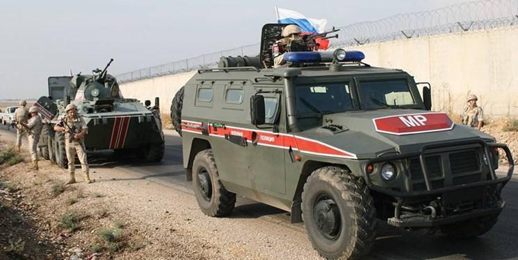 روسیه در نزدیکی مرز سوریه با عراق گشت زنی می کند