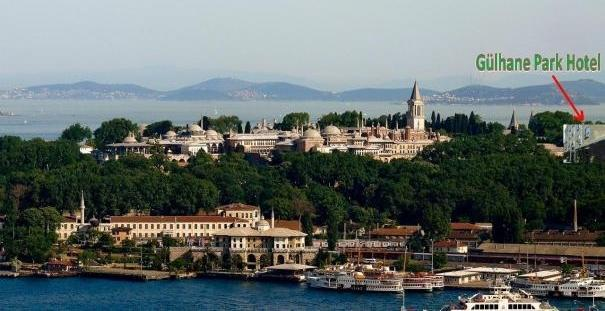 هتل گولحانه پارک قلب تاریخی استانبول