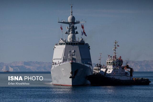 تیراندازی ناوهای ایران، روسیه و چین به سمت اهداف دریایی