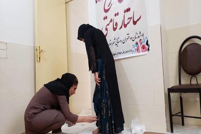 قامت بانوان روستایی زنجان اصلاح می شود