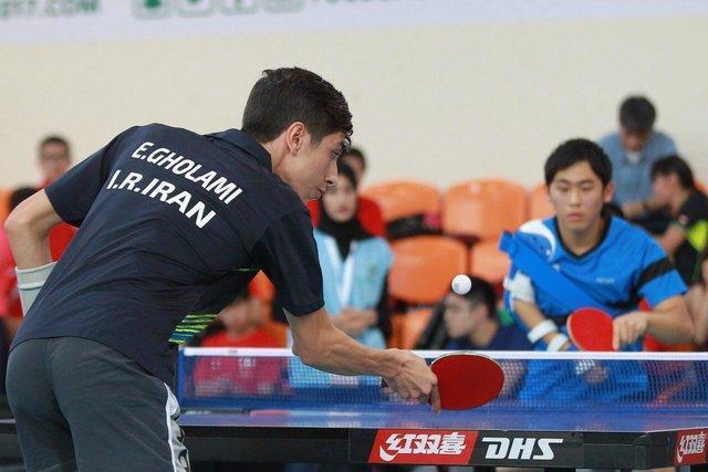 نتایج مرحله مقدماتی پینگ پنگ بازان ایران در بازیهای پاراآسیایی جوانان