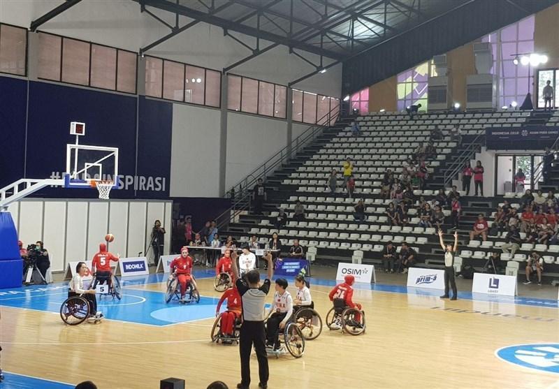 گزارش خبرنگار اعزامی خبرنگاران از اندونزی، شکست تیم ملی بسکتبال با ویلچر بانوان برابر چین