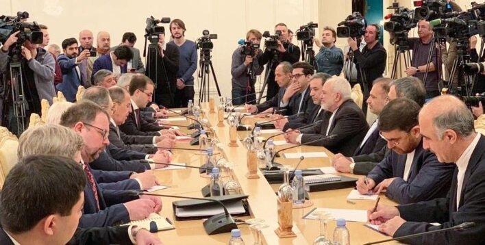 ظریف: در بهترین سطح روابط با مسکو هستیم، روسیه به دنبال صلح در منطقه است