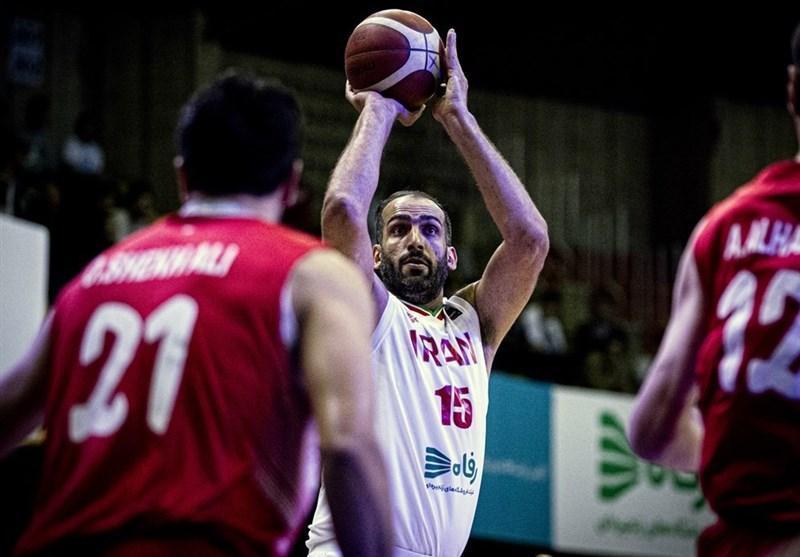 بسکتبال انتخابی کاپ آسیا، فزونی آسان ایران مقابل سوریه در گام نخست، حدادی موثرترین بازیکن ایران بود