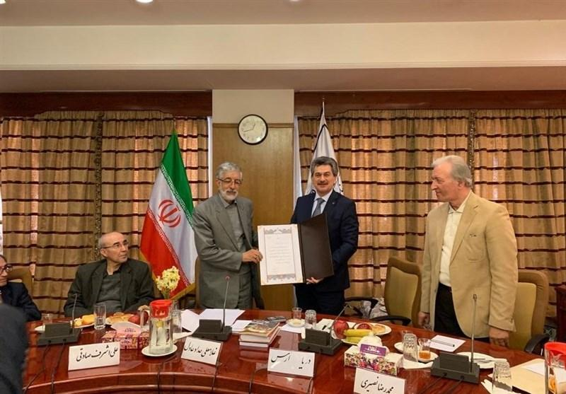 سفیر ترکیه در ایران عضو افتخاری فرهنگستان زبان فارسی شد