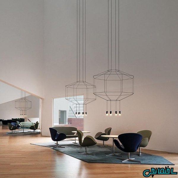 10 مدل لوستر مدل، برای خانه های مدرن