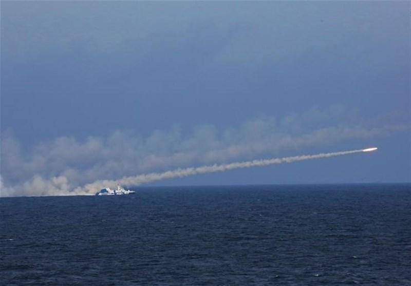 رزمایش نیروی دریایی چین در محل منازعات بزرگ