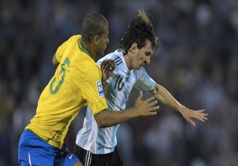 اعتراف ملو درباره بازی برزیل و آرژانتین در کوپا آمه ریکا: نوبتی مسی را می زدیم!