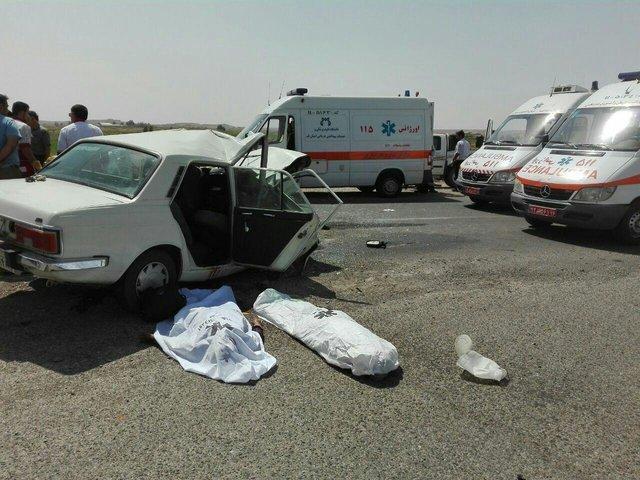 خسارت های 1000 میلیاردی حوادث رانندگی در فارس
