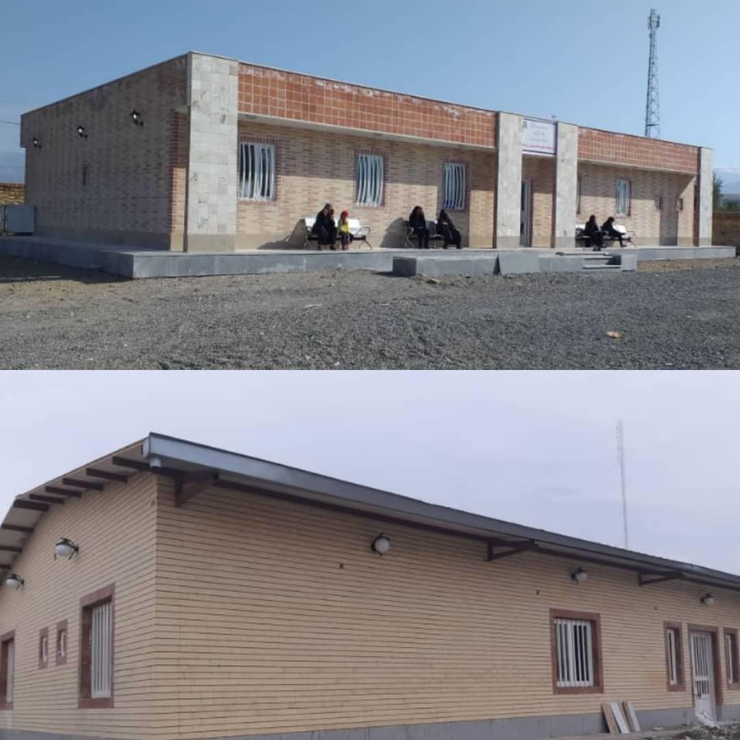 بهره برداری از پروژه های سلامت در جنوب کرمان