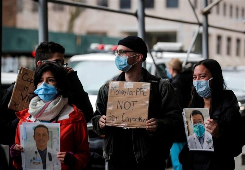 هشدار پزشکان آمریکایی درباره کمبود تجهیزات درمانی برای مقابله با کرونا