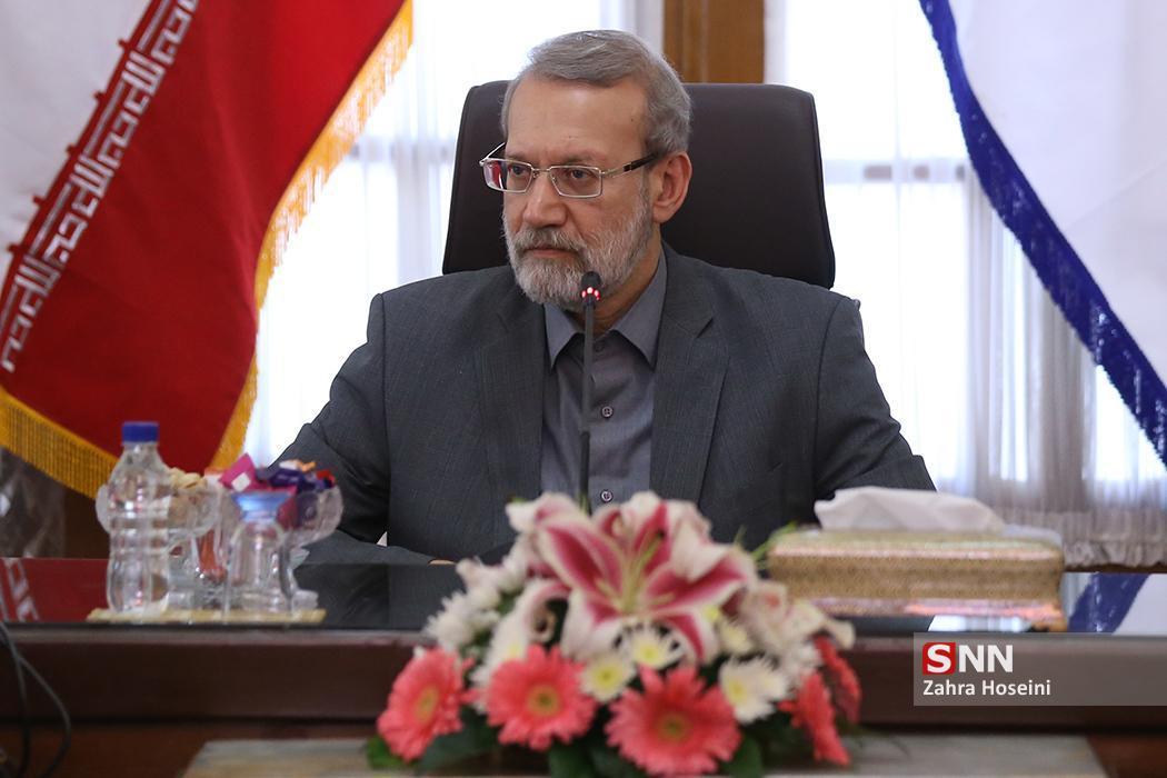 لاریجانی: کارآمدی ارتش، مایه آرامش ملت است