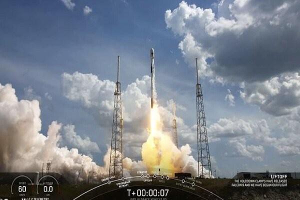 اسپیس ایکس ماهواره جی پی اس به فضا برد