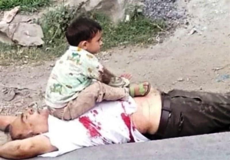 واکنش ها به صحنه دلخراش قتل پیرمرد کشمیری توسط نظامیان هندی مقابل نوه خردسالش