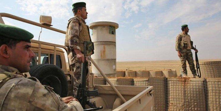 استقرار نیروی زمینی عراق در مرز با ترکیه