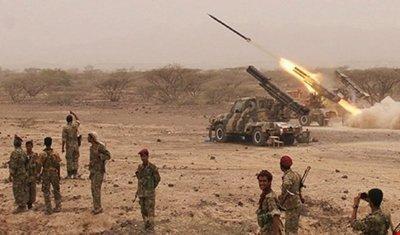 کشته و زخمی شدن ده ها مزدور سعودی در عملیات انصارالله در جنوب عربستان