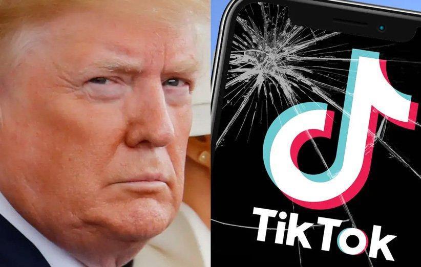 ترامپ می خواهد استفاده از اپلیکیشن تیک تاک را در آمریکا ممنوع کند