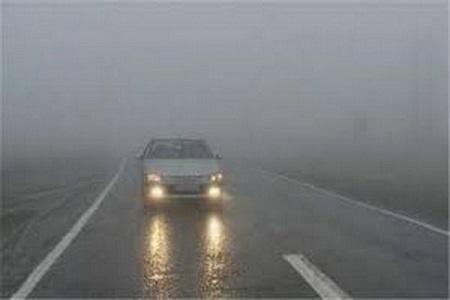مه گرفتگی در ارتفاعات چهار محور مواصلاتی