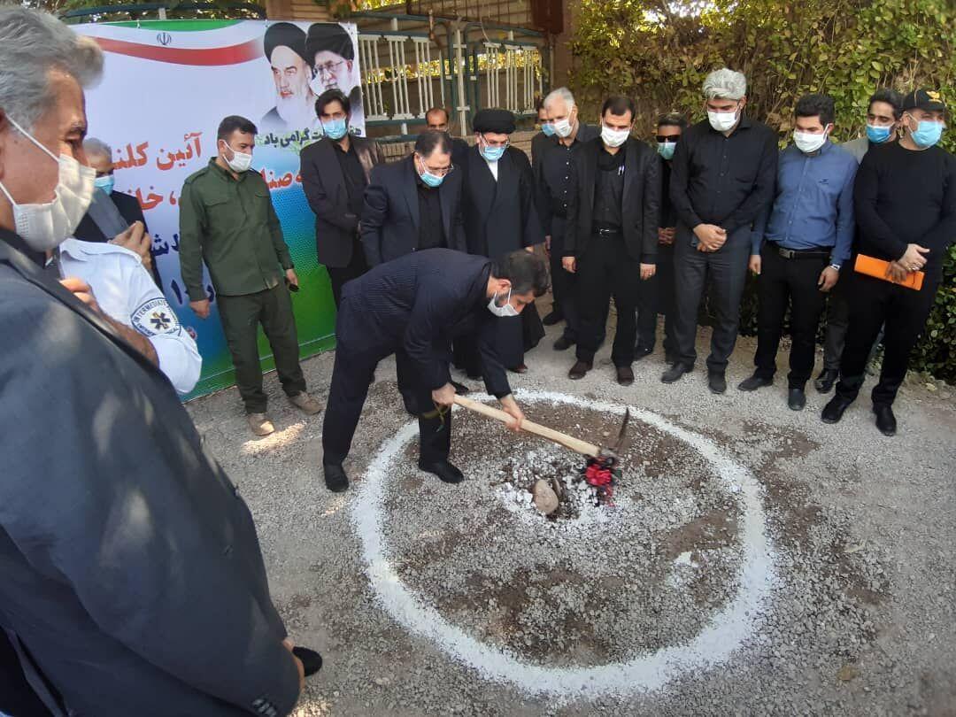 خبرنگاران عملیات ساخت بازارچه صنایع دستی دزفول آغاز شد