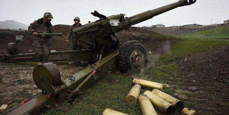 ایروان: جمهوری آذربایجان به تجهیزات نظامی در خاک ارمنستان حمله نموده است