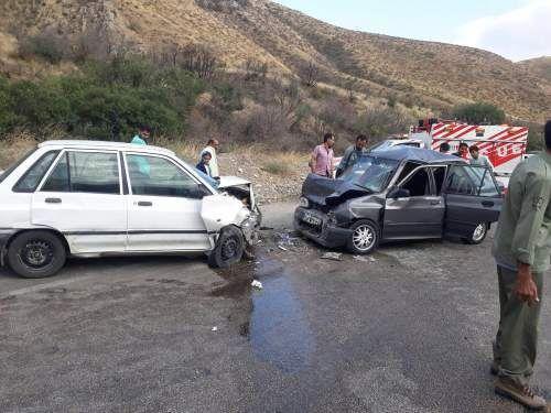 خبرنگاران حادثه رانندگی در مشگین شهر 9 مصدوم برجای گذاشت