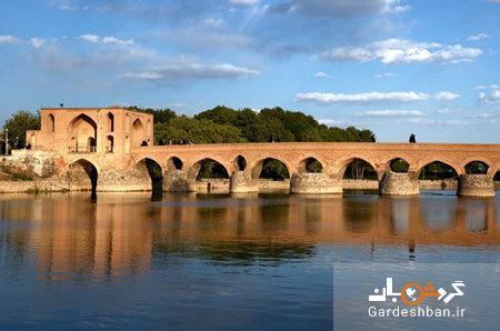 پل شهرستان اصفهان؛از قدیمی ترین پل های زاینده رود، عکس