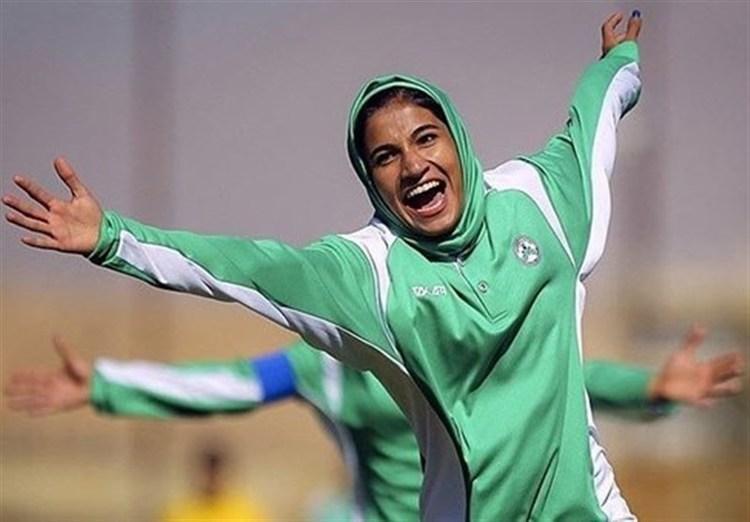 بازگشت دختر لژیونر ایرانی به وچان