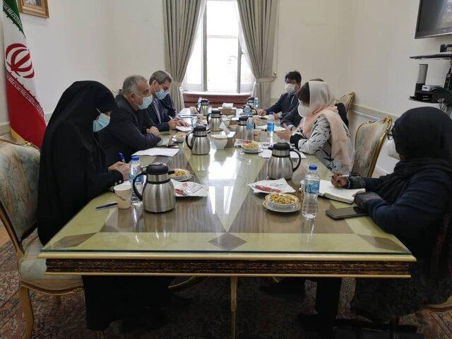 ملاقات نماینده ویژه ظریف در امور افغانستان با نماینده ویژه سازمان ملل در امور افغانستان