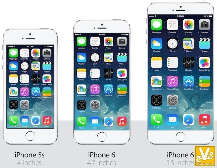 تصاویر آیفون 6 اپل بالاخره منتشر شد