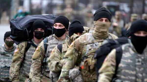 حذف چندین نظامی گارد ملی از شرکت در مراسم تحلیف