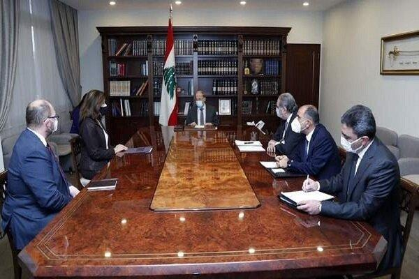 رایزنی عون با سفیر آمریکا در لبنان