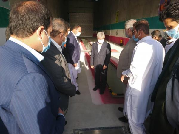 خبرنگاران سه طرح تولیدی در بزمان سیستان و بلوچستان افتتاح و کلنگ زنی شد