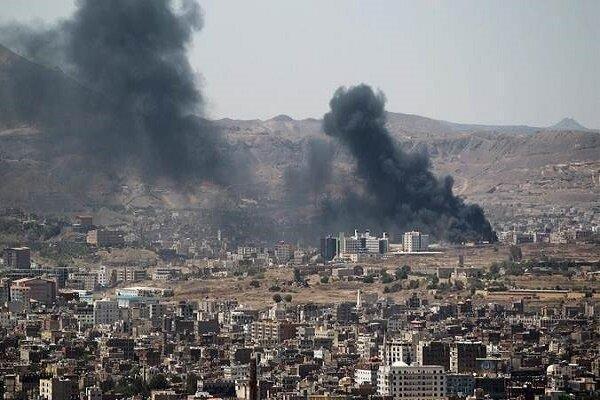 حمله مزدوران ائتلاف سعودی به شهر صاله یمن، 2 کشته و 10 زخمی