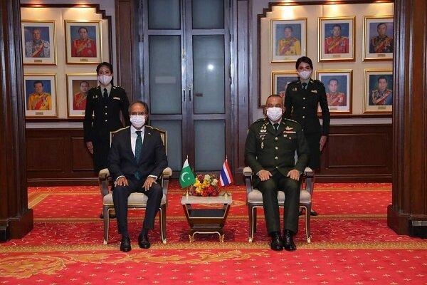 پاکستان و تایلند توافقنامه دفاعی امضا کردند