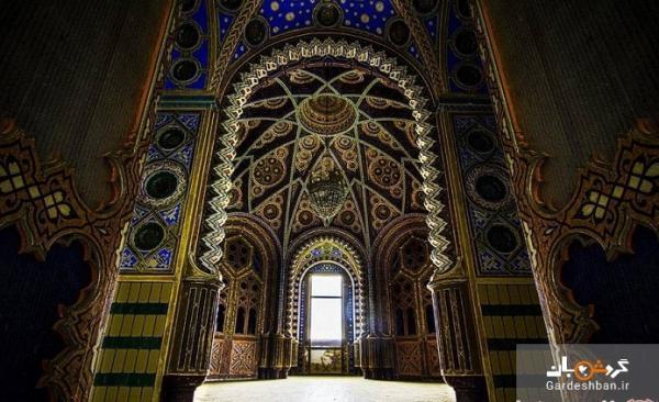 قلعه سامتزانو؛ بنایی بی نظیر با معماری شرقی