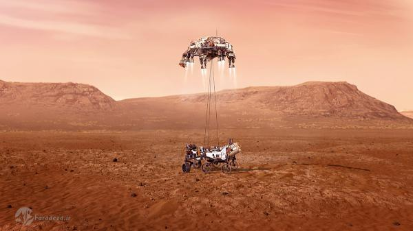 فرود مریخ نورد استقامت بعد از هفت دقیقه وحشت