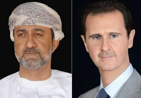 پیغام تبریک سلطان عمان به بشار اسد