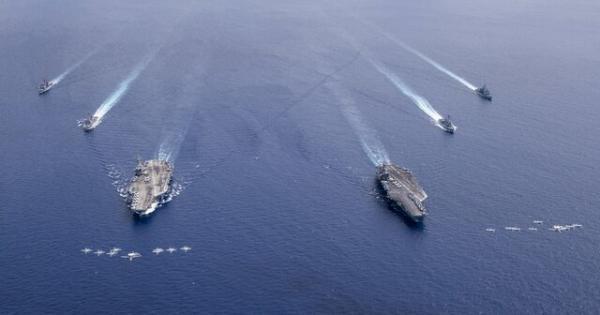 عملیات نیروی دریایی آمریکا در دریای چین جنوبی