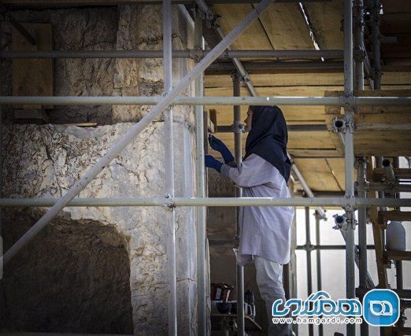 آنالیز فرایند بازسازی خانه میرزا سلیمان خان در دانشگاه سوره